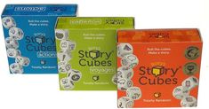 Educational ELA board games for homeschool or learning at home: Rorys Story Cubes