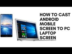 (29) How to CAST Android Mobile Screen to PC Laptop Screen - YouTube
