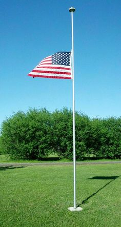 15dc040e3 Customer Fan Photo-- Telescoping Flag Pole by TopFlight. United States Flag  Store · American Flags