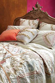Master Bedroom Anthropologie - Ananda Duvet