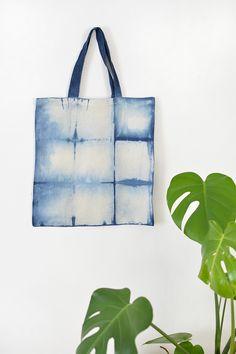 DIY shibori bag @burkatron