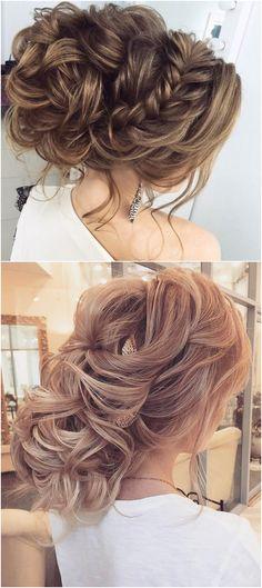 Long wedding updos and hairstyles from Elstile #weddings #weddingideas #hairstyles / http://www.deerpearlflowers.com/new-long-wedding-hairstyles-updos/4/