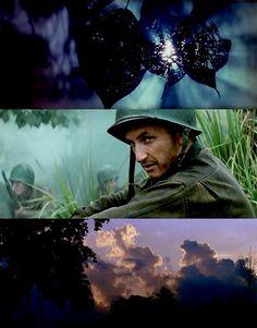"Sean Penn in ""The Thin Red Line"""