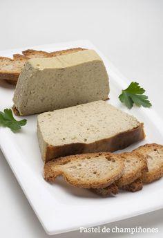 Receta de Pastel de champiñones - Karlos Arguiñano - Cocina Abierta Quiche, Food And Drink, Bread, Vegetables, Cooking, Kitchen, Gastronomia, Open Kitchens, Mushroom Cake