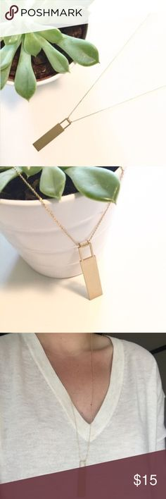"NWT || Matte Gold Delicate Padlock Necklace Minimalist chic Matte Gold Padlock Pendant Necklace. Simple gold chain. The perfect go-to necklace. Length: Approx 28"" + 3"" Extension. Price is firm unless bundled. Bundle 4 or more and save 20%. Jewelry Necklaces"