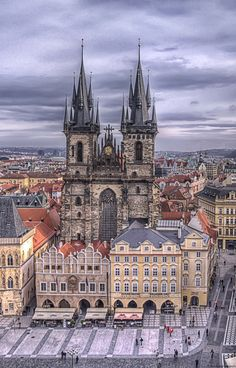 So many great memories here. Beautiful city, nice people, cheap beer :) Prague, Czech Republic -jenpeng