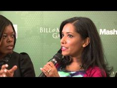 Ahmad Alhendawi, Ruma Bose, Tina Wells and Zeenat Rahman at the 2013 Social Good Summit