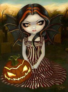 gothic halloween fairy.JPG