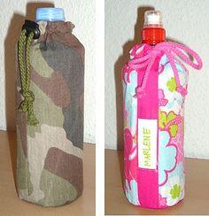Tutorial für Flaschenkühler/ Flaschentasche