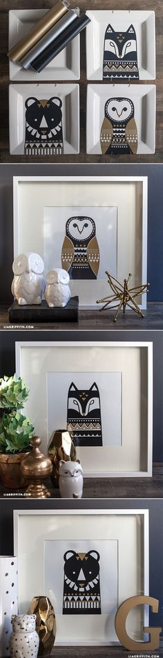 #Scandinavian Inspired Art at www.LiaGriffith.com