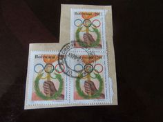 Old Used Stamps Botswana Lot of 3