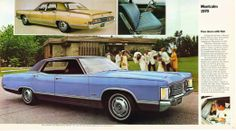 1970 Meteor Montcalm was a mid-level offering for Mercury of Canada.