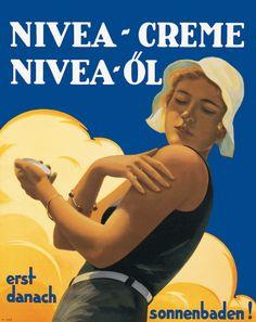 NIVEA Retroanzeige - 1931