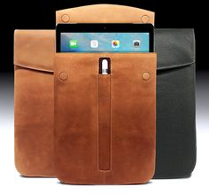Our new 12.9 iPad Pro Sleeves have just arrived. For everyone who was waiting, thanks! For everyone who might want one, get one while they last! https://www.mac-case.com/collections/leather-macbook-pro-and-ipad-sleeves-s/products/leather-ipad-pro-sleeve