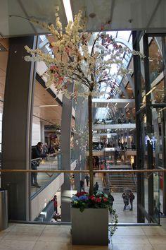 Dekoration für Shopping Male, Europa Passage Hamburg, Foto Birgit Puck