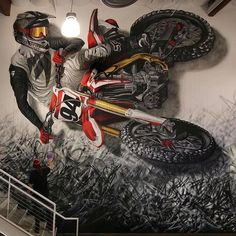 a boston based community that believes in the power of public art and creativity to literally transform lives and in making our streets alive. Motocross Tattoo, Motorcycle Tattoos, Motorcycle Art, Bike Art, Motorcycle Memes, Bmx, Enduro Motocross, Motocross Store, Moto Enduro