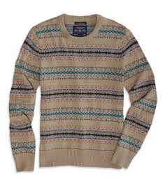 AE Fair Isle Sweater | American Eagle Outfitters ($44.00) - Svpply