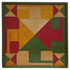 1920's Four Color Game Board
