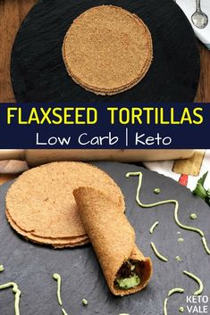 Keto Flaxseed Meal Tortillas - Low Carb and Gluten Free Recipe