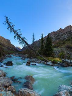 Ala-Archa canyon by Konstantin Voronov (Kyrgyzstan)