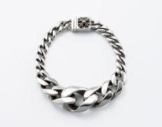 Chrome Hearts chain bracelet.