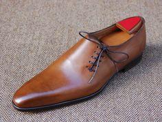 Marc Guyot, Laçage côté offcentre laces... #brogues #oxford #shoes
