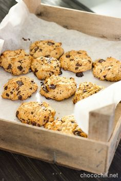 Kaura-suklaakeksit No Bake Cookies, Baking Cookies, Raw Vegan, Macarons, Treats, Sweet, Desserts, Recipes, Pastries
