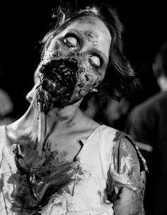 Zombie makeup