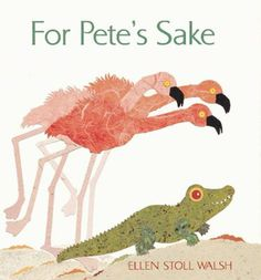 Pete's a flamingo, he's sure of that. But why is he green? Why does he have four feet instead of two? And why doesn't he have feathers? Pete...