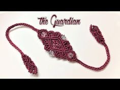 Easy DIY macrame bracelet - The Dividing double color bracelet - Step by step guide by Tita - YouTube