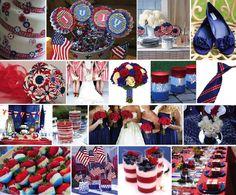 patriotic decorating ideas | Ideas by Andrea: Patriotic Event Decor