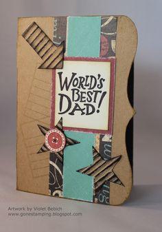 CTMH - World's Best Dad card