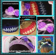Hey, I found this really awesome Etsy listing at https://www.etsy.com/listing/292527519/crochet-tie-back-headbands-choose-your