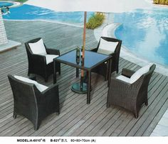 outdoor garden dining set www.facebook.com/pages/Foshan-Fantastic-Furniture-CoLtd                                                         www.ftc-furniture.com