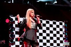 Meghan Trainor onstage during Kiss 108's Jingle Ball 2014 at TD GARDEN on December 14, 2014 in Boston, MA. (Photo: Jordan Corey for iHeartRadio)