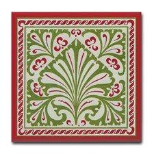 Art Nouveau Tile Coaster for