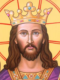Coming soon to Monastery Icons: a new icon of Christ the King