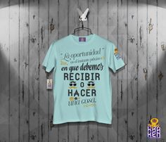 T-SHIRT LA OPORTUNIDAD