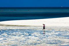 Beach on Zanzibar, by Martin Morrell.