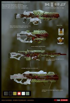 Weapon Concept Art Pavel Savchuk