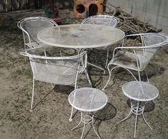 Woodard. Vintage Patio FurniturePatio SetsWrought IronPorchesGardens
