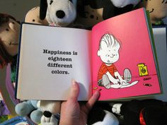 Happiness is eighteen different colors