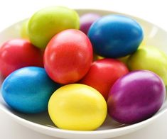 Tie Dye Easter Eggs | Simple Tie Dyed Easter Eggs Using Paper Towel...