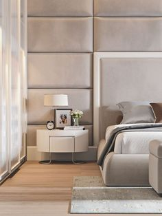 Modern Bedroom Design Inspiration The bedroom is the perfect place at home for relaxation and rejuvenation. While designing and styling your bedroom, Bedroom Design Inspiration, Modern Bedroom Design, Master Bedroom Design, Modern House Design, Bed Design, Home Decor Bedroom, Design Ideas, Design Trends, Master Bedrooms