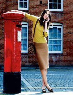 Boden USA~Notre Dame Skirt~Love pencil skirts! $118.00