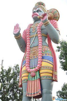 Jai Shri Ram !!!    Big Hanuman Idol @ Agara, Banglore, India   @ http://ijiya.com/8236166