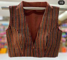 Collar Blouse, Neck Collar, V Neck, Blouse Patterns, Blouse Designs, Churidar Neck Designs, Cotton Blouses, Saree Blouse, Indian Fashion