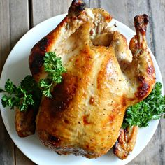 Honey Horseradish Roasted Chicken for Passover- the horseradish replaces tangy mustard for a sweet and savory roasted chicken! Perfect for your seder or all year!