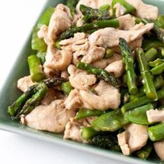 Chicken Stir-Fry with Asparagus