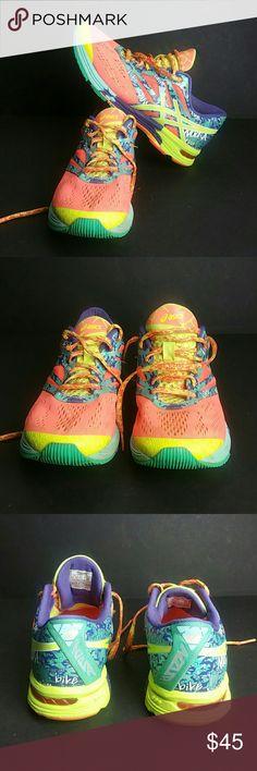 ASICS GEL-NOOSA TRI 10 WOMEN SHOES VERY CLEAN INSIDE-OUT   SKE # ZXPO Asics Shoes Athletic Shoes